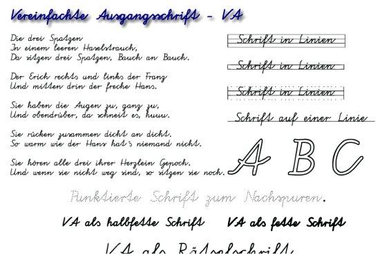 lalteinische schriftart zum kopieren